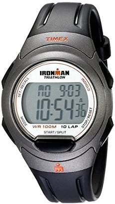 Timex Men's T5K607 Ironman Essential 10 Full-Size Resin Strap Watch