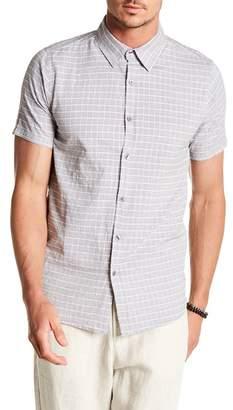 Tavik Wesley Check Printed Short Sleeve Regular Fit Shirt