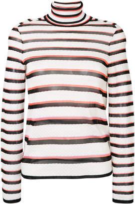 Missoni striped turtleneck jumper