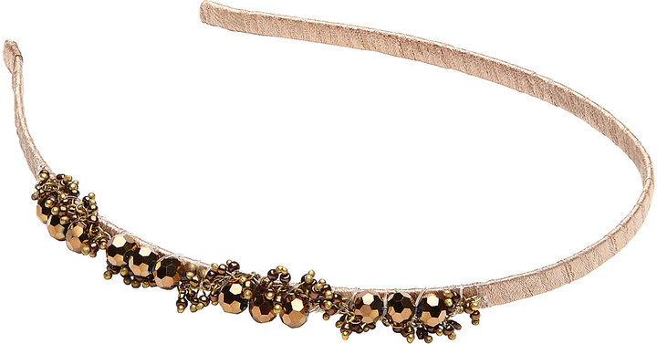 Witchery Bead Cluster Headband