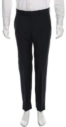 Alexander McQueen Wool Flat Front Pants
