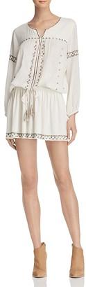 Joie Laka Studded Drawstring Dress $368 thestylecure.com