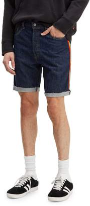 Levi's Premium 501 Taper Cut-Off Denim Shorts