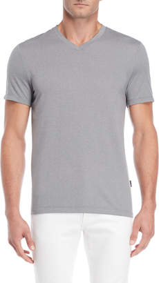 Perry Ellis V-Neck Stripe Tee