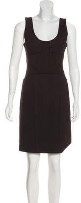 Robert Rodriguez Paneled Knee-Length Dress