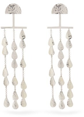 Sophia Kokosalaki Twilight Sterling Silver Earrings - Womens - Silver