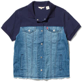 Levi's (リーバイス) - (S) ポロシャツ トラッカー