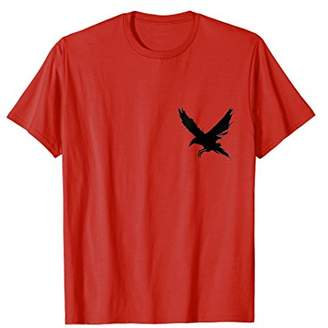 Pocket Raven Crow Crest tshirt