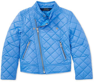 Polo Ralph Lauren Moto Jacket, Big Girls