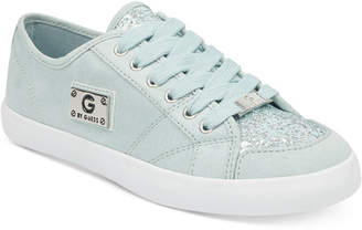 G by Guess Matrix Glitter Lace Up Sneakers Women's Shoes