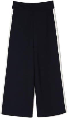 Tibi High-Waisted Striped Nerd Pants