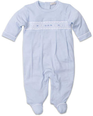 Kissy Kissy CLB Fall Smocked Pima Footie Playsuit, Size Newborn-9 Months