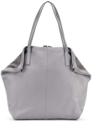 Fabiana Filippi embellished large tote bag
