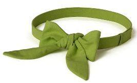 Bow-Tie Belt