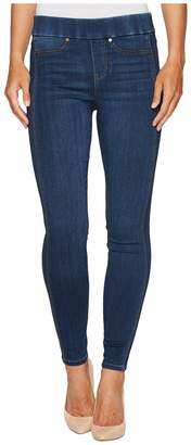 Liverpool Sophia Pull-On Ankle with Seaming Detail in Silky Soft Stretch Denim in Helms Dark Women's Jeans