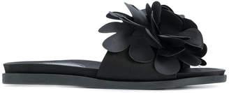 Simone Rocha floral trim slides