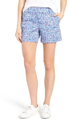 Women's Vineyard Vines Sand Dollar Print Shorts $88 thestylecure.com