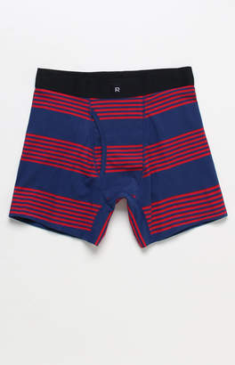 Richer Poorer Thurston Navy and Red Striped Boxer Briefs