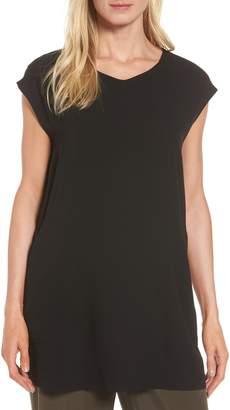 Eileen Fisher Silk Crepe Tunic