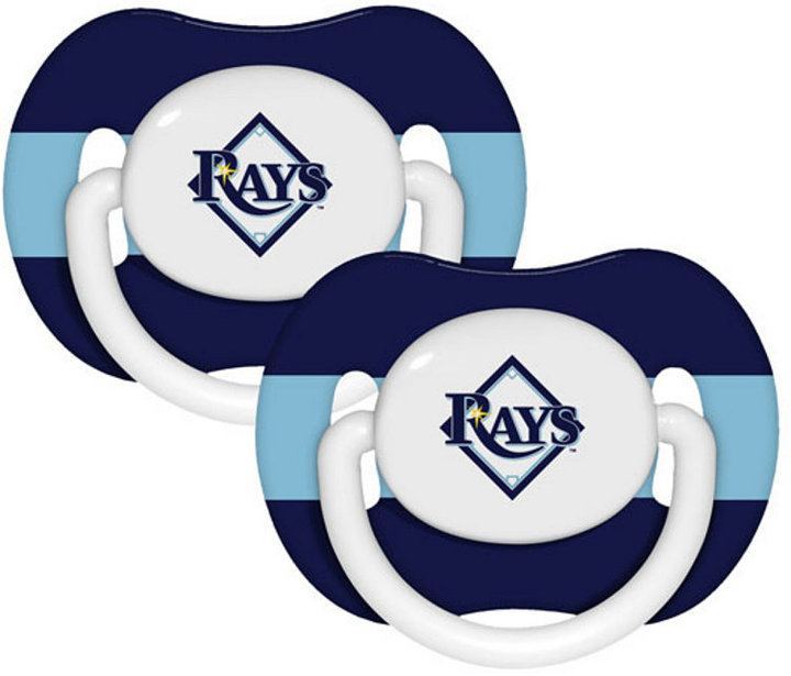 Baby Fanatics Tampa Bay Rays 2-Pack Pacifiers