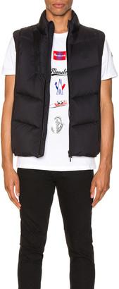 Moncler Jacot Vest in Black   FWRD