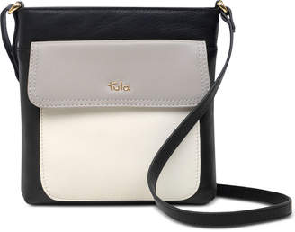 8395a03a84 Tula England Colorblocked Leather Crossbody