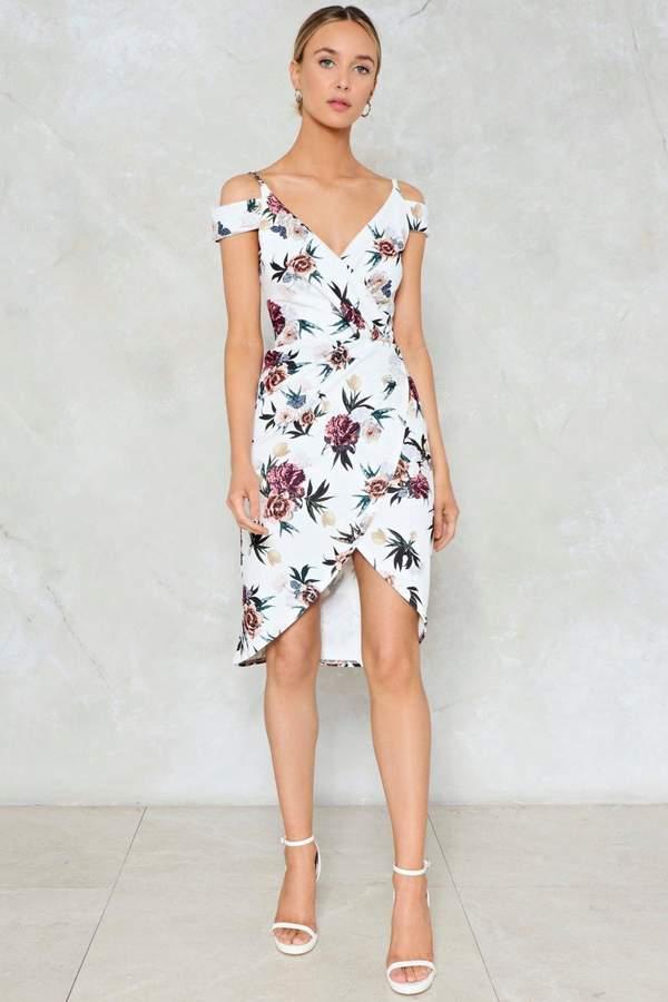 nastygal Grown Woman Wrap Dress