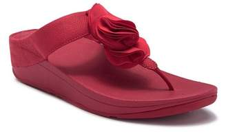FitFlop Florrie Wedge Thong Sandal