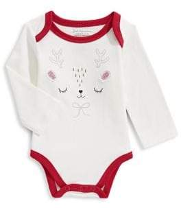 First Impressions Baby Girl's Printed Cotton Bodysuit