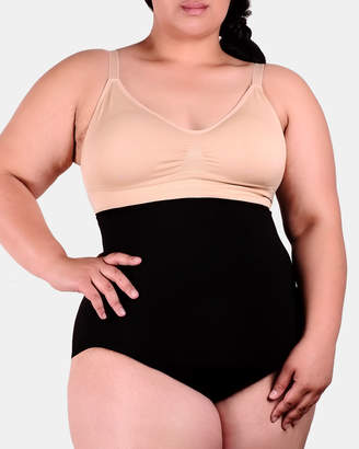 Curvy Shaping Stay-Up Brief