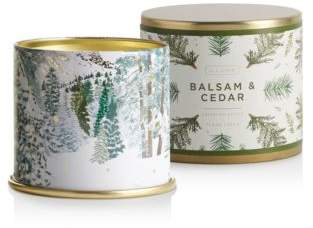 Illume Balsam Cedar Large Tin Candle