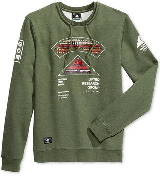 LRG Men's Multi-Kulture Crewneck Pullover $56 thestylecure.com