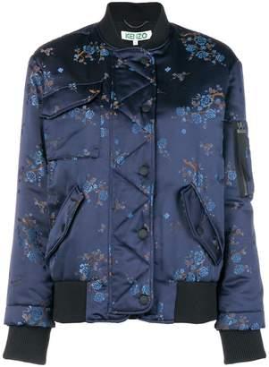 Kenzo floral print bomber jacket