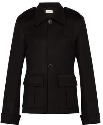 Wales Bonner Wool Jacket - Mens - Black