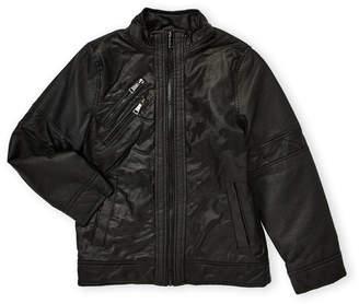 Urban Republic Boys 8-20) Embossed Camo Moto Jacket