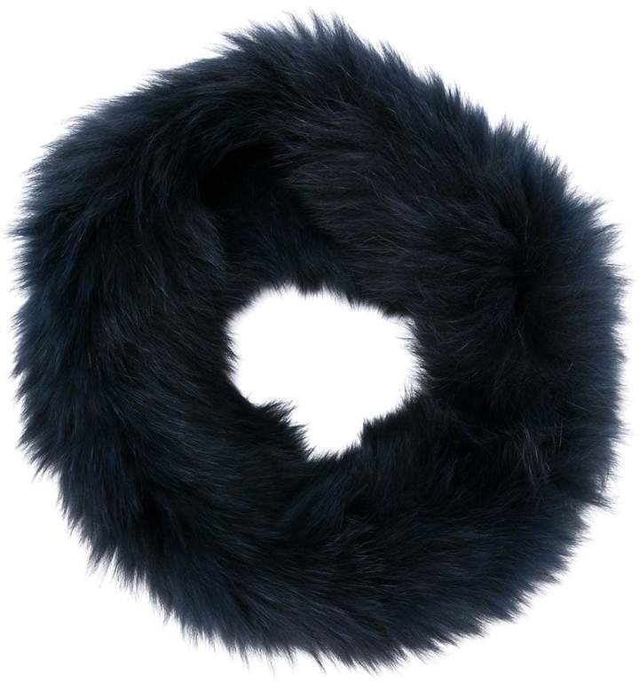 Yves Salomon rounded scarf