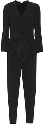 Stella McCartney Bow peplum jumpsuit