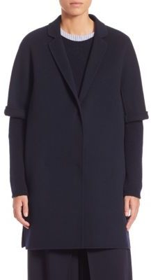 Max MaraMax Mara Leva Short-Sleeve Wool Coat