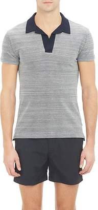 Orlebar Brown Men's Felix Polo Shirt - Gray