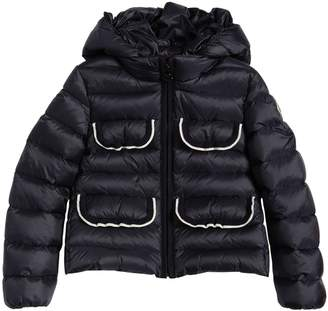 Moncler Tahiata Knitted Details Nylon Jacket