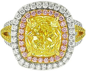 Diana M. Fine Jewelry Platinum 7.02 Ct. Tw. Diamond Ring