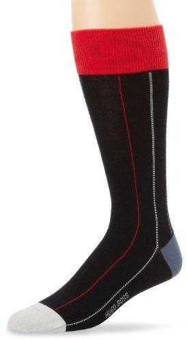 HUGO BOSS Men's Pinstripe Dress Sock