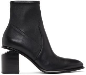 Alexander Wang Black Stretch Anna Boots