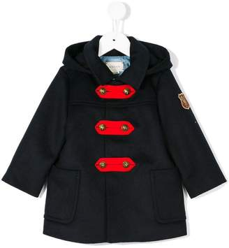 Gucci Kids hooded duffle coat