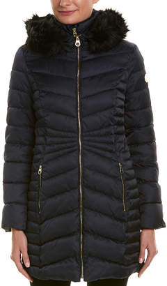 Laundry by Shelli Segal Quilted Coat