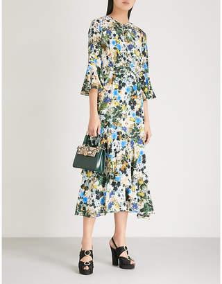 Erdem Florence silk-crepe dress