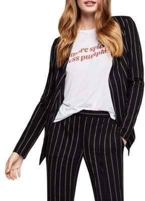 BCBGeneration Striped Tuxedo Jacket