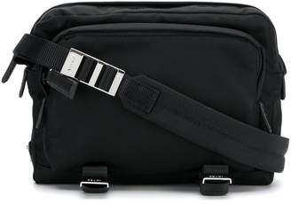 Prada buckle-detail shoulder bag