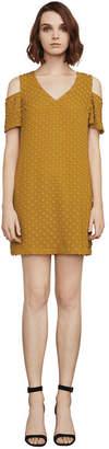 BCBGMAXAZRIA Kia Cold-Shoulder Dress