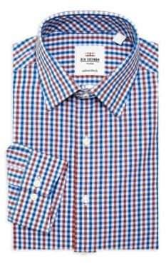 Ben Sherman Slim-Fit Check Dress Shirt